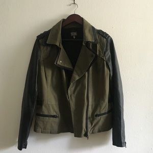Cusp Neiman Marcus Faux Leather Jacket